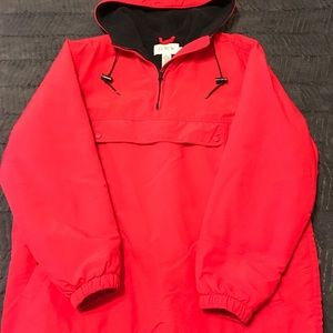 J Crew lined pullover hoodie